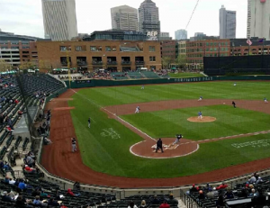 Columbus Clippers baseball game