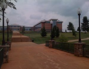 Entrance to USC Upstate near The Willows apartments for rent