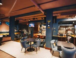 Underpin Lanes N' Lounge bowling, bar, and lounge near The Willows apartments for rent
